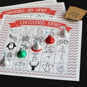 Christmas Bingo Party Game