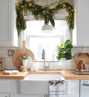 Christmas Ornament Garland for Window