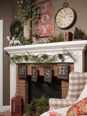 150 Rustic Christmas Decor DIY Ideas - Prudent Penny Pincher