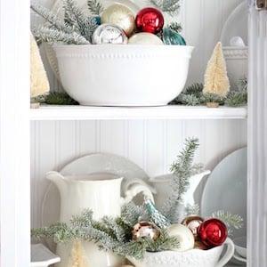 Hutch Christmas Kitchen Decor