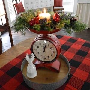 Vintage Christmas Kitchen Decor