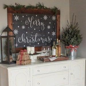 Christmas Ornament Chandelier
