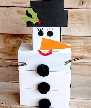 DIY Snowman Bowling