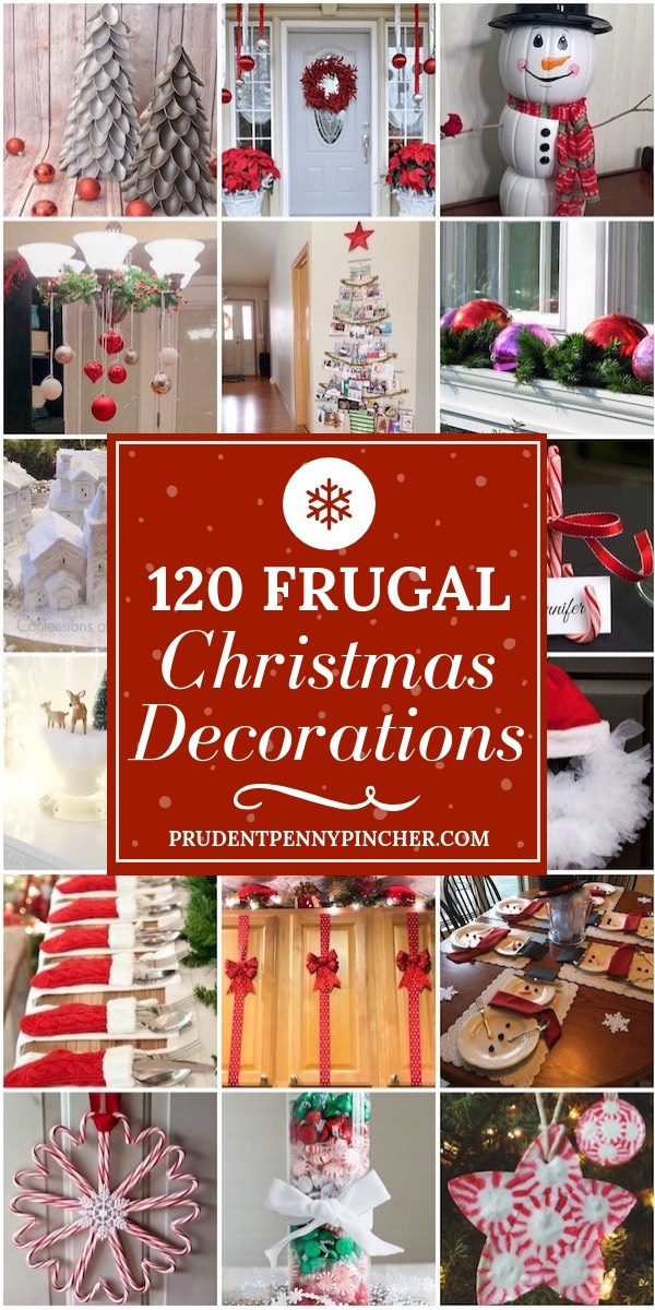 120 Frugal Christmas Decorations - Prudent Penny Pincher