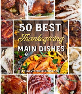 50 Main Dish Thanksgiving Dinner Recipes