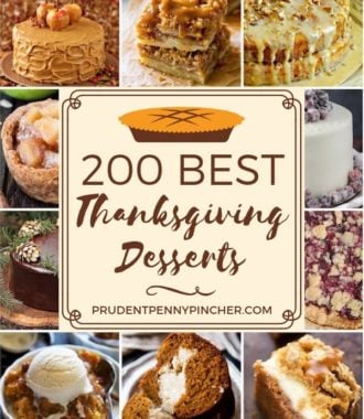 200 Best Thanksgiving Desserts