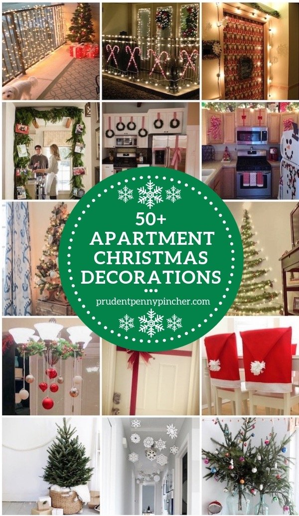 50 apartment christmas decorations - Apartment Christmas Decorations