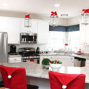 Christmas Kitchen Makeover From How To Nest For Less