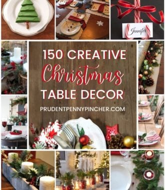 150 Creative Christmas Table Decorations