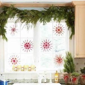 Island Christmas Kitchen Decor