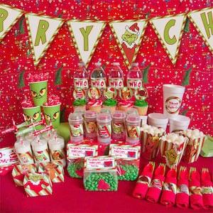 Grinch Christmas Party idea