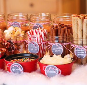 Hot Chocolate Bar & Holiday Cookie Party