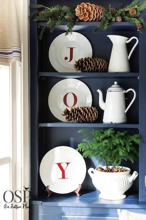 DIY Dollar Tree Joy Plates