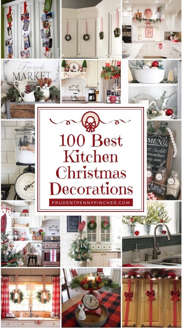 pin it on pinterest prudent penny pincher 100 best kitchen christmas decorations