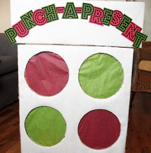 Punch Presents Christmas Game for kids