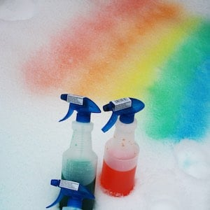 DIY Snow Paint
