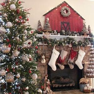 Woodland Christmas Decorations.150 Rustic Christmas Decor Diy Ideas Prudent Penny Pincher