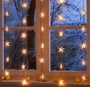 Starry Lights Window
