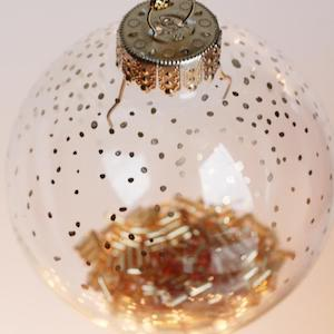 120 Diy Clear Glass Christmas Ornaments Prudent Penny Pincher