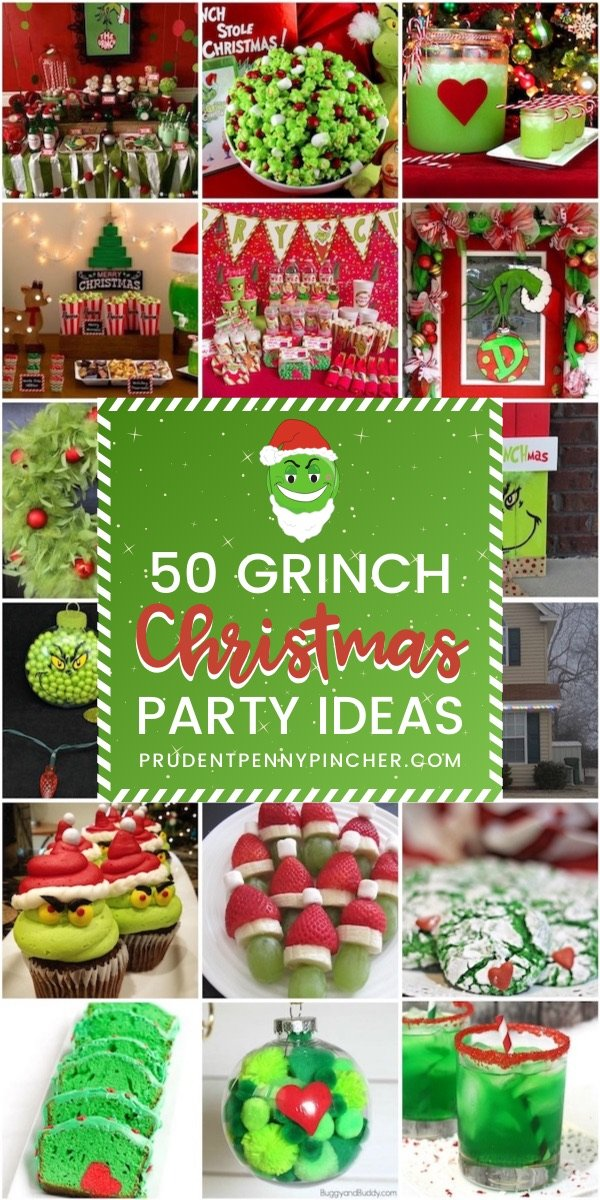 50 Grinch Christmas Party Ideas