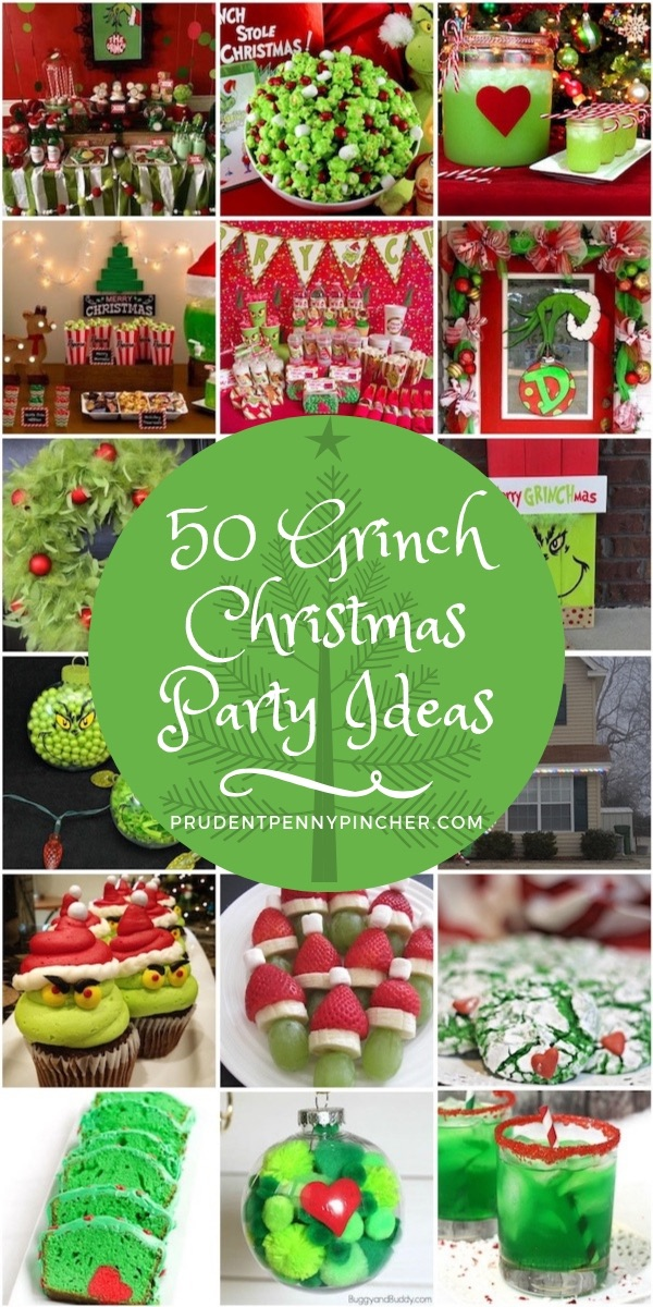 50 Best Grinch Christmas Party Ideas Prudent Penny Pincher