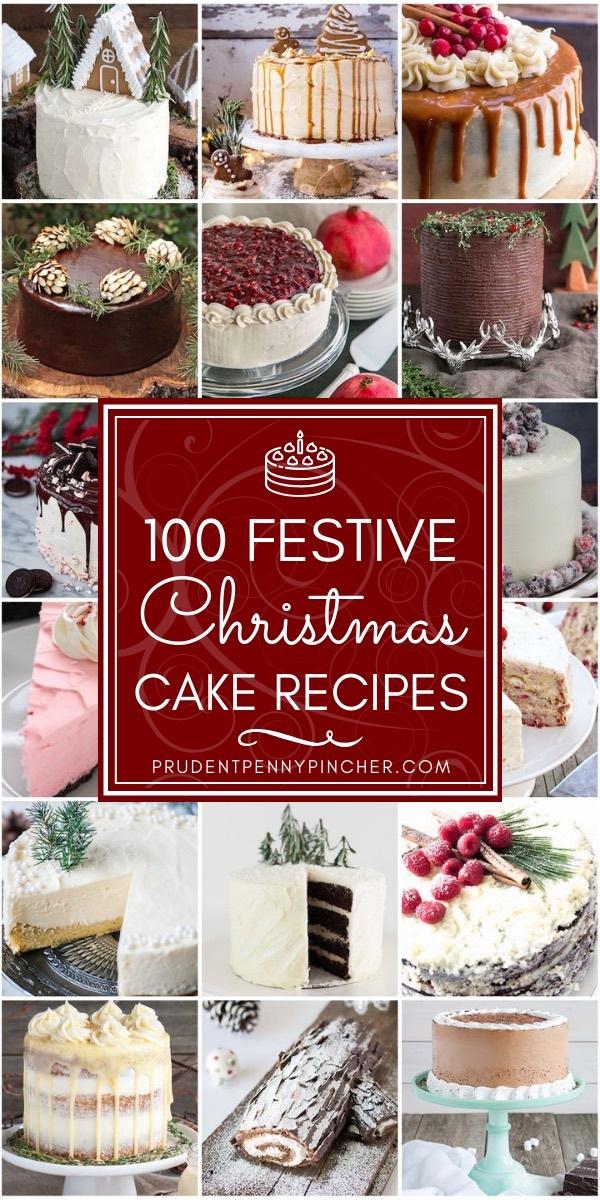100 Festive Christmas Cakes