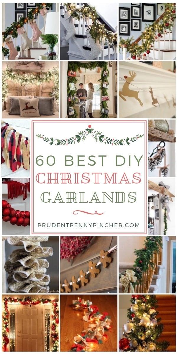 60 Best DIY Christmas Garlands