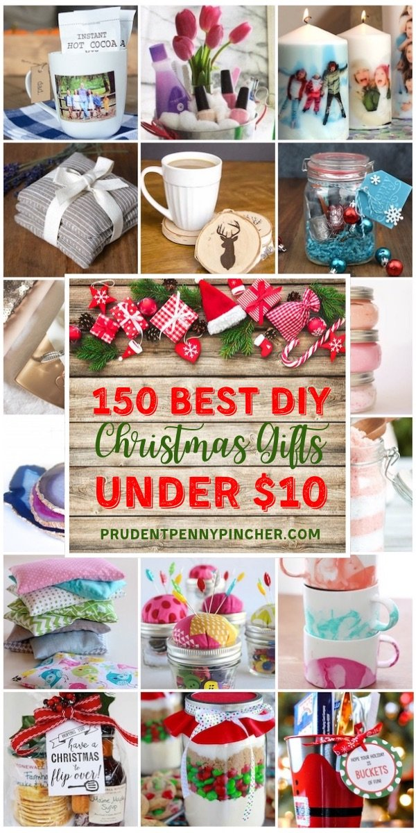 150 Best DIY Christmas Gifts Under $10