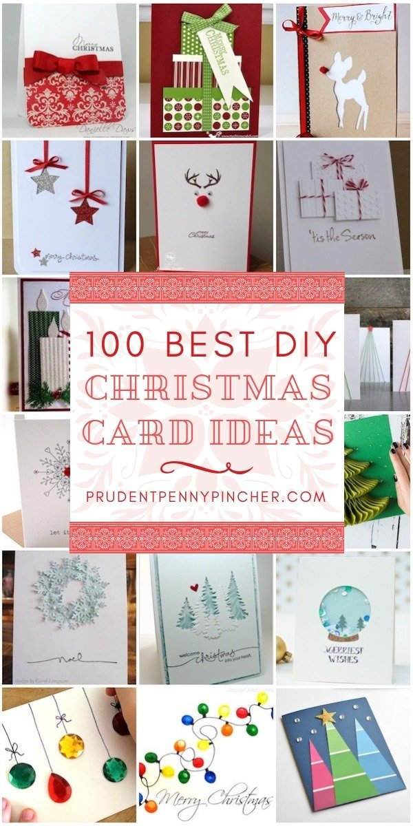100 Best DIY Christmas Cards