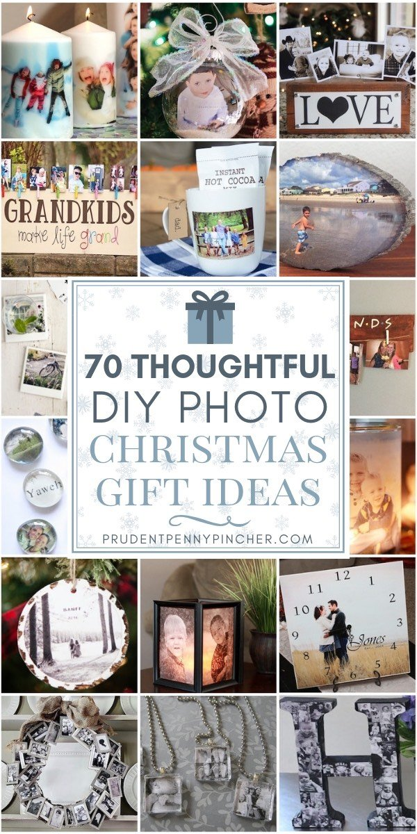 70 thoughtful diy photo christmas gifts