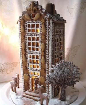 Gingerbread Skyscraper
