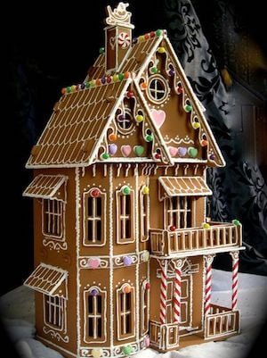 Three Story Gingerbread House