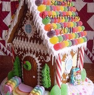 Gumdrop Roof Gingerbread House