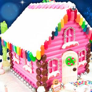 Chocolate Gingerbread House idea