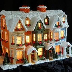 Gower Street Gingerbread House Idea