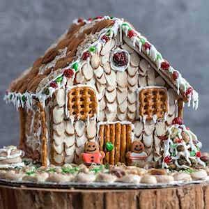 No Bake Gingerbread House