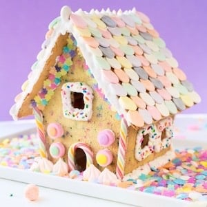 Funfetti Gingerbread House