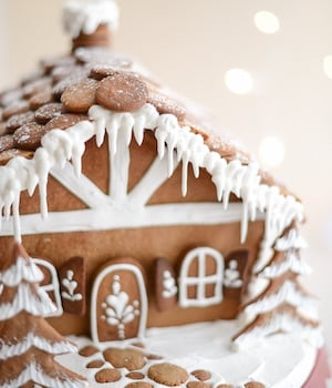 Professional Gingerbread House
