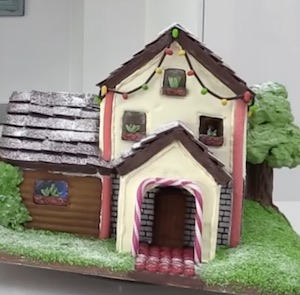 Two Story Gingerbread House