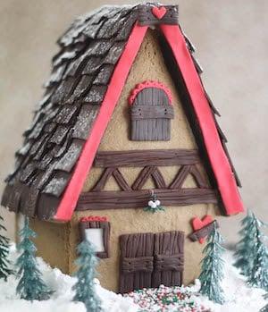 Bavarian Gingerbread House idea