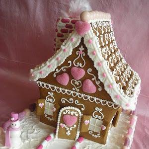 Gingerbread Valentine House