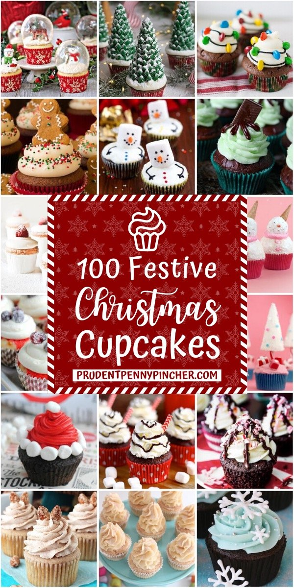 100 Festive Christmas Cupcakes