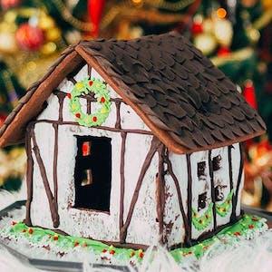 Cottage Gingerbread House Idea