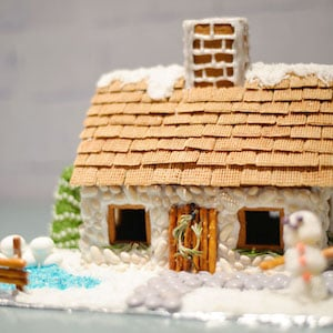 Gingerbread English Cottage