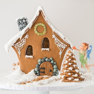 Gingerbread Fairy House