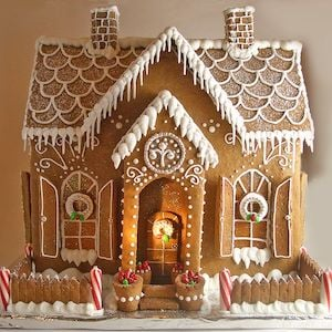 Gingerbread Icicle House