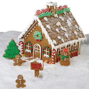 Grand Gingerbread House idea