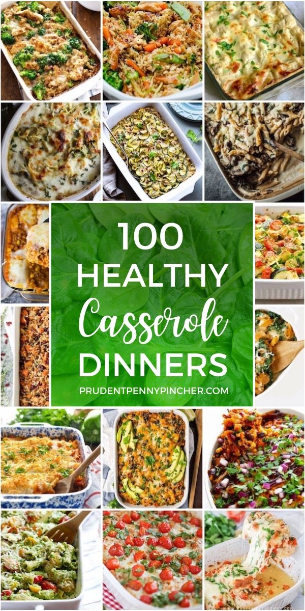 100 Healthy Casserole Recipes