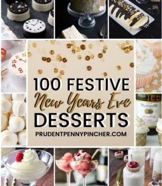 100 Festive New Year's Eve Desserts