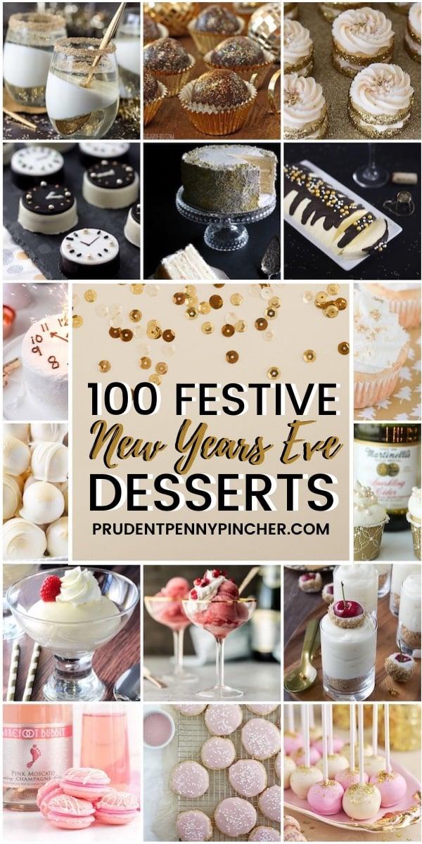 100 Festive New Year's Eve Desserts
